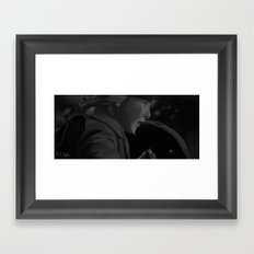 Run Boy Run Framed Art Print