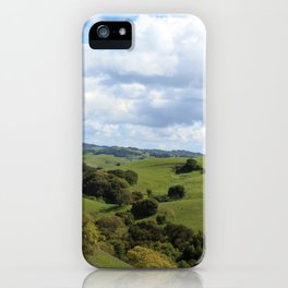 Treely Hilly iPhone Case