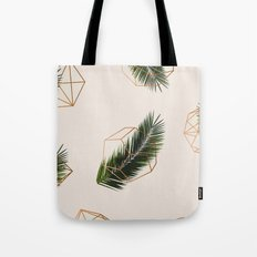 Palm + Geometry #society6 #decor #buyart Tote Bag