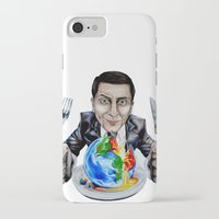 suit iPhone & iPod Cases featuring Suit by 13 Styx