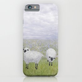 sheep and chicory iPhone Case