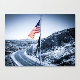 El Paso Scenic Drive Canvas Print