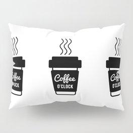 Coffee Time Zone Pillow Sham