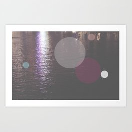 Dots//Twelve Art Print