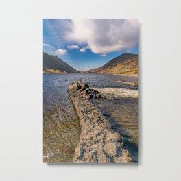 Llyn Cowlyd Snowdonia Metal Print