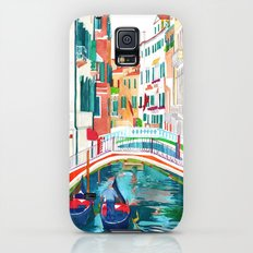 Canal in Venice Galaxy S5 Slim Case