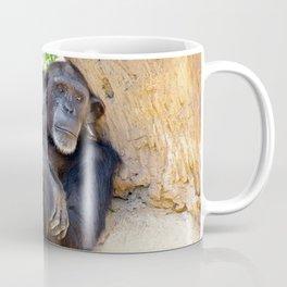 Chimpanzee relaxing Coffee Mug