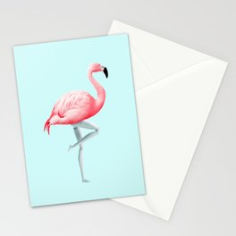 FLAMINGO MANNEQUIN Stationery Cards