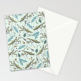 praying mantis in the garden Stationery Cards