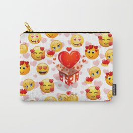 EMOJI LOVE Carry-All Pouch