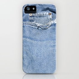 Old Jeans iPhone Case
