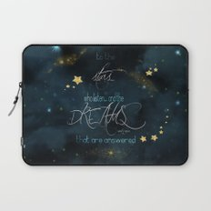 To the stars who listen... Laptop Sleeve