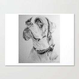 What A Good Boy !! Canvas Print