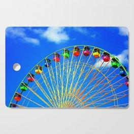 Colorful Ferris Wheel Cutting Board