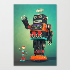 Giant Robot Canvas Print