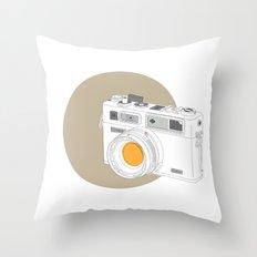 Yashica Electro 35 GSN Camera Throw Pillow