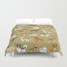 AFRICAN DOGS Duvet Cover