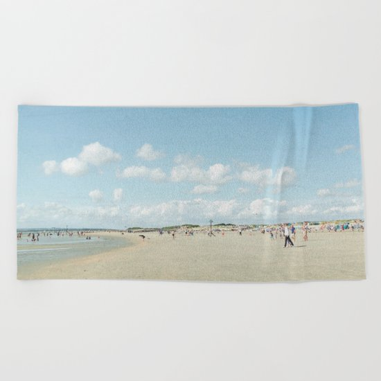 Big Skies Beach Towel