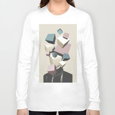Queen of Cubes Long Sleeve T-shirt