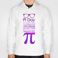 pi Hoodies featuring Pi Day by Square Lemon