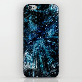 Universum blue deep iPhone Skin
