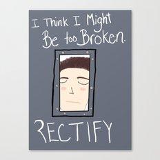 Rectify Canvas Print
