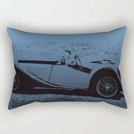 Classic Vintage Car MG Rectangular Pillow
