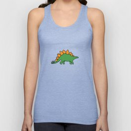 Cute Stegosaurus Unisex Tank Top
