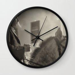 Feira da Golegã 2015 2 Horse Wall Clock
