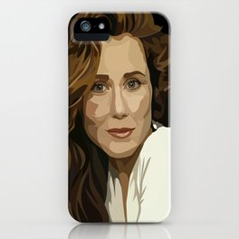 Red Haired Beauty iPhone Case