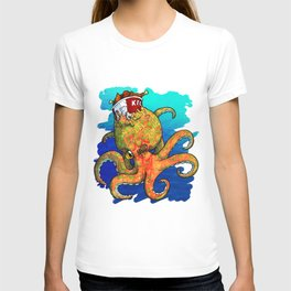 The Octopus and the Chicken T-shirt