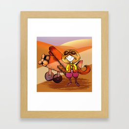 Aviator Framed Art Print