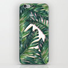 banana leaf 3 iPhone Skin