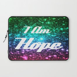 Galaxy Quotes: I AM Hope Laptop Sleeve
