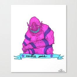 cutie pie Canvas Print