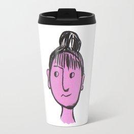 """Auntie Rosie"" woman with a bun Travel Mug"