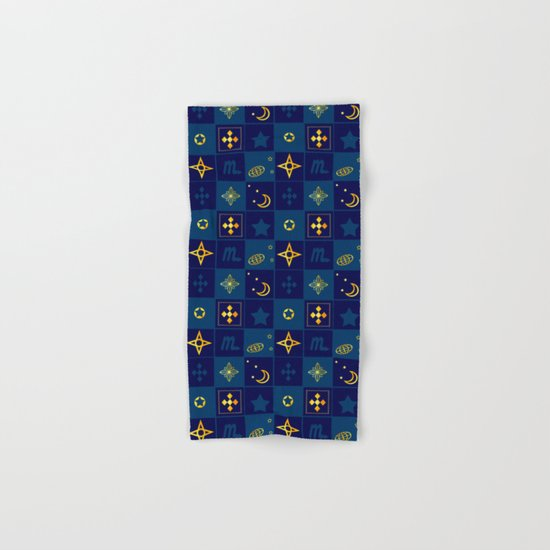 Night Waltz of the planets. Hand & Bath Towel
