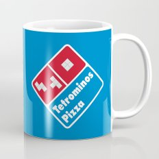 Tetrominos Pizza Mug