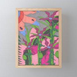 The Garden at Twilight Framed Mini Art Print