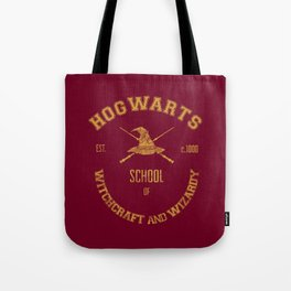 Hogwarts Varsity Print Tote Bag