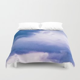 BEFORE THE STORM: BLUE CLOUDS Duvet Cover