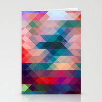 triangle Stationery Cards featuring TRIANGLE by Hands in the Sky