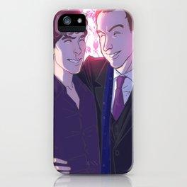 Holmes Bros iPhone Case