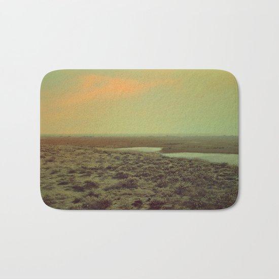 Lonely Landscape Bath Mat