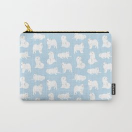 Samoyeds Print Carry-All Pouch