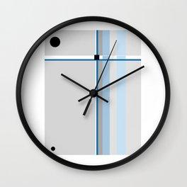 Element Sky Blue Wall Clock