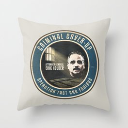 Fast And Furious Cover Up Throw Pillow