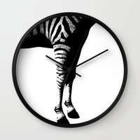 dragonball z Wall Clocks featuring Z. by Diferentes Mentes