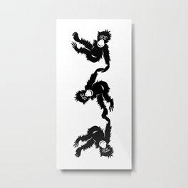 Barrel Full of Monkeys Metal Print