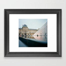 The Louvre - Paris, France Framed Art Print